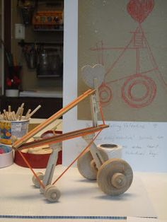 """Whitehall Farm Studios - """"Be My Rolling Valentine"""" - Inventor Day - DaVinci Inspired Visual Learning, Baby Strollers, Studios, Inspired, Children, Blog, Baby Prams, Young Children, Boys"""