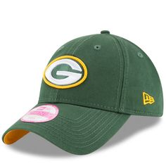 Green Bay Packers New Era Women s Preferred Pick 9TWENTY Adjustable Hat -  Green -  19.99 Спорт aa5f1580f35