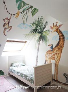 Safari Bedroom, Baby Bedroom, Baby Room Decor, Kids Bedroom, Room Decor Bedroom, Boys Jungle Bedroom, Safari Nursery, Boy Girl Room, Baby Boy Rooms