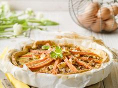 Quiche met wortelen en kalfsgehakt (Libelle Lekker!)