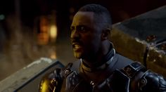 "Idris Elba exhorting the troops in Guillermo del Toro's upcoming mecha v. monsters movie ""Pacific Rim.""     Here's the link to the full trailer at Deadline: http://www.deadline.com/2012/12/video-pacific-rim-trailer-guillermo-del-toro-charlie-hunnam-idris-elba/"