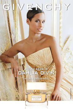 Alicia Keys for Givenchy Dahlia Divin Fragrance Ad Campaign - Parfumerie et parapharmacie - Parfumeries - Givenchy