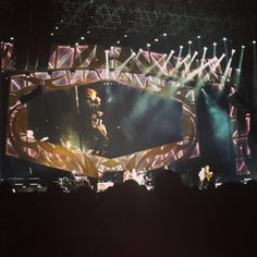 The Rolling Stones at stage right now in Melbourne! - Nov. 5th. 2014