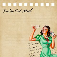 Boulevard de L'antique - Retro Scraps: Free Printable Retro Girl's Note Pads