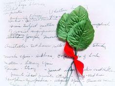 Vintage Bundle of Sage Green Millinery Leaves  #vintage #etsy