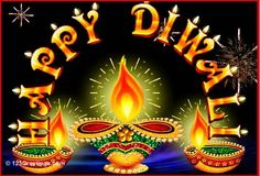 Beautiful Diwali lamps and fireworks to go with your wishes. Free online Sparkling Diwali Diyas ecards on Diwali Diwali Greeting Cards Images, Diwali Greetings, Diwali Wishes, Online Greeting Cards, Diwali Cards, Diwali Gif, Diwali Hindi, Happy Diwali Pictures, Diwali Pooja