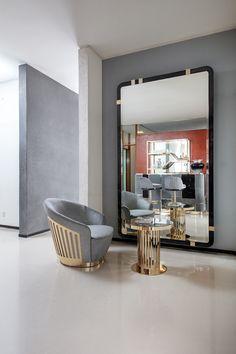 Round end table, - Giorgio Collection Luxury furniture: Iron Furniture, Steel Furniture, Luxury Furniture, Modern Furniture, Luxury Home Decor, Luxury Interior, Composite Adirondack Chairs, Single Chair, Futuristic Furniture