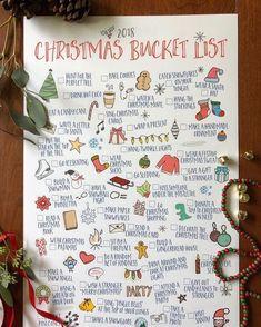 merry christmas 2018 Christmas Bucket L - Christmas Mood, Noel Christmas, Merry Little Christmas, Christmas 2019, All Things Christmas, Holiday Fun, Christmas Crafts, Christmas Decorations, Christmas List Ideas