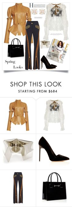"""""""Spring Looks"""" by ildiko-olsa ❤ liked on Polyvore featuring Loewe, Dolce&Gabbana, Peter Pilotto and H&M"""