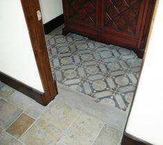 This is Our Rare Collection of Ancient Encaustic Cement Tiles by Ancient Surfaces Encaustic Tile, Cement, Floors, Tile Floor, Tiles, Surface, Antiques, Phone, Home Tiles