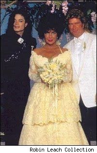 Elizabeth Taylor's eighth, and last, wedding (Larry Fortensky)