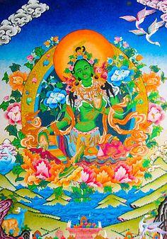 Lanjee Chee - Green Tara 12