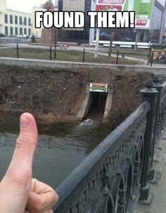 Guess they moved from the sewers for a little while