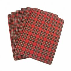 Royal Stewart Placemats Set of 6