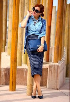 Nєσwєn   Denim ♥   Chicisimo Girly Outfits, Cute Outfits, Stylish Outfits,  Stilettos be4118800e0a