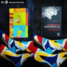 #Repost @danacristudor #gift #book #abeautifulday #socks #lovesocks #colourfulsocks #goodbook #goodnight The wisdom of psychopaths... #sockswag #BallonetSocks #london #ballonet #menstyle #fashion #socksoftheday #friyay #menssocks