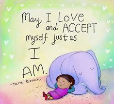 Buddha doodles - May I love and accept myself just as I am Tiny Buddha, Little Buddha, Buddha Thoughts, Happy Thoughts, Buddah Doodles, Quotes To Live By, Life Quotes, A Course In Miracles, Self Compassion