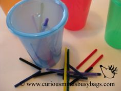 Dropit toddler busy bag by CuriousMindsBusyBags on Etsy