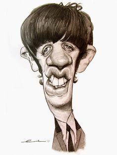 Ringo Starr by Ernesto Priego