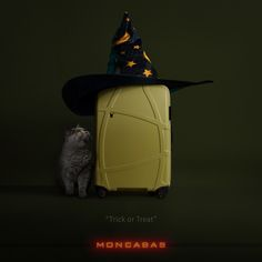 THIS WITCH IS THE RHIANNON LUGGAGE OF MONCABAS FOR HALLOWEEN CONCEPT ART.