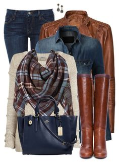 Boots and Jeans by daiscat on Polyvore featuring polyvore, fashion, style, LE3NO, Object Collectors Item, MANGO, Koral, Lanvin, Coach, Divya Diamond, Who What Wear and clothing