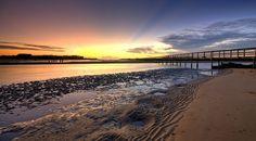 Urunga Boardwalk Geography, Coast, Australia, Spaces, Park, Beach, Water, Outdoor, Gripe Water