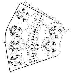 """When Spring Comes / DROPS Extra 0-1306 - Serwetka DROPS na szydełku, z włóczki """"Muskat"""". - Bezpłatny wzór DROPS Design"""