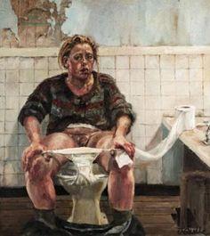 """Autoportrait,"" Jenny Saville (British, b. 1970)"