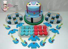 #dulceloren #Topa #juniorexpress #mesadulce #cookies #minicupcakes #torta #alfajoresdemaicena