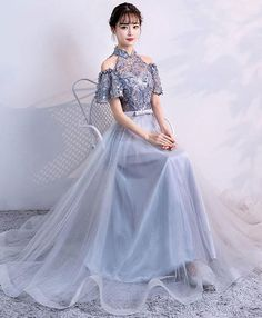 Prom Dress Prom Dresses Prom Dresses Under 100 Beautiful Prom Dresses, Elegant Dresses, Pretty Dresses, Casual Dresses, Fashion Dresses, Asian Prom Dress, Korean Dress, Gaun Dress, Cheap Prom Dresses Online