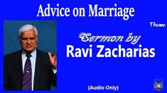 The Book of Malachi - Sermon by Dr Ravi Zacharias Dr Ravi Zacharias, Book Of Malachi, Christian Apologetics, Important Things In Life, Marriage Advice, Word Of God, The Book, Words, Youtube
