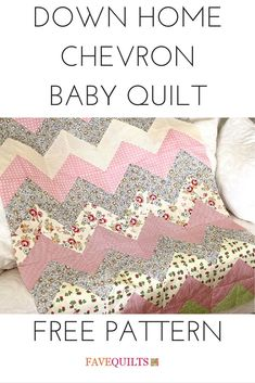 14 Easy Baby Quilt Patterns for Boys and Girls | Easy baby quilt ... : baby blanket quilt patterns for free - Adamdwight.com