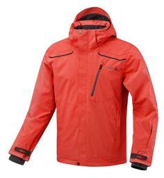 Veste de ski homme rouge