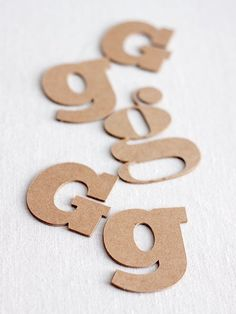 """How to Make Custom """"Chipboard"""" Letters - this is ridiculously easy if you have some type of cutting machine such as a cricut"""