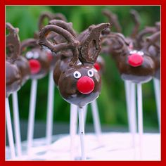 Within the Kitchen: Reindeer Cake Pops