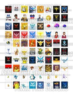Pokemon Inspired Scrabble Tile Digital Collage