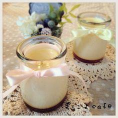 No its not milk, its a pudding :] Yasukoさんの料理 定番おやつ普通のプリン