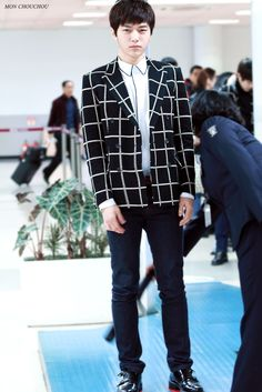 Infinite L airport fashion at Gimpo Airport[141214]