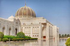 Comenzamos #Omanmehizoami con el plato fuerte del día: la Gran #Mezquita de #Mascate. Esto no ha hecho más que comenzar! #unavidaviajera
