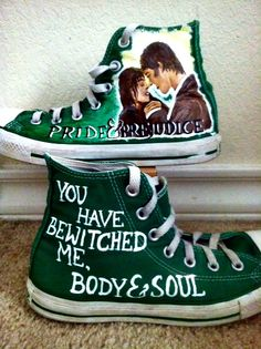 Pride and Prejudice Shoes