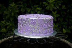 Brushed embroidery cake | Brush