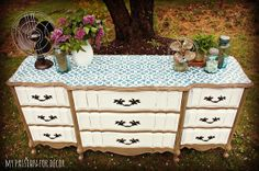 My Passion For Decor: The Stenciled Dresser Challenge