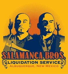 Breaking Bad - The Salamanca Brothers - had the asses handed to them by Hank #GangsterFlick
