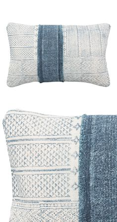 We loved the relaxed color palette and charming print of the Waterways Throw…