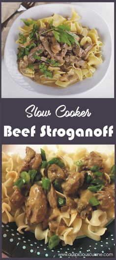 This is a variation of a favorite Beef dish. It is a quick dish because real Beef Stroganoff took a whole night to ready.