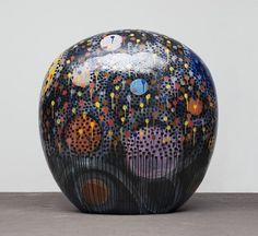 Jun Kaneko, Dango 12-05-43 2012, Glazed Ceramic