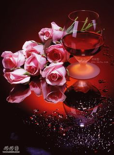 Rose and Wine Square Diamond Painting Red Wine, White Wine, Buy Roses, Pink Roses, Pink Flowers, 5d Diamond Painting, Wine Time, Painting Patterns, Be My Valentine