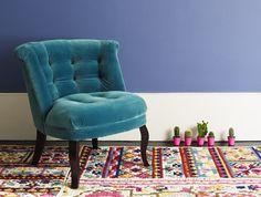 oliver bonas velvet tub chair