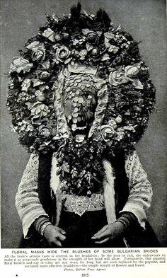 Bulgarian Matrimonial Headdress