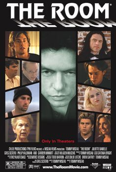 This is the best 'worst movie ever' - totally bizarre love triangle plot, sub-plots that never come together, and the most awful acting you've ever seen! You have to see it at a theater for the audience participation! Movies Must See, Movies To Watch, Good Movies, Movies And Tv Shows, The Room 2003, The Room Tommy, Cinema Posters, Movie Posters, Great Albums